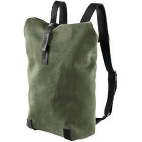 Brooks Pickwick Canvas Selkäreppu Pieni 12l, forest